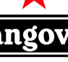 Hangovered Sticker