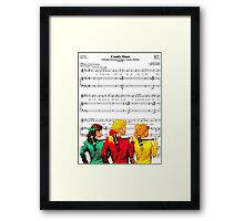 Step into my Candy Store Framed Print