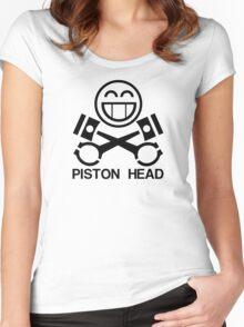Piston Head Women's Fitted Scoop T-Shirt