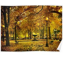 Public Garden, Boston MA Poster