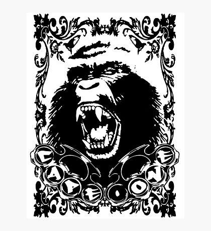 Guerrilla Squad -black- Photographic Print