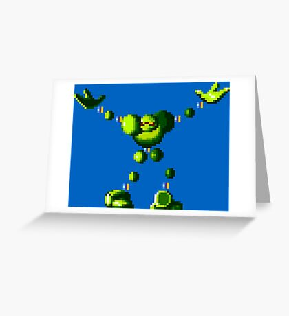 Vectorman (Genesis Sprite) Greeting Card