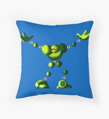 Vectorman (Genesis Sprite) Throw Pillow