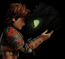 Hiccup & Toothless - Dragon Trainer by DonMazzi