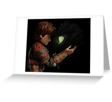 Hiccup & Toothless - Dragon Trainer Greeting Card