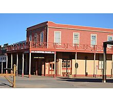 Crystal Palace - Tombstone Az.  Est. in 1800's Photographic Print