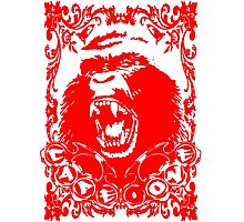Guerrilla Squad -red- Photographic Print