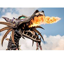 Fire Breathing Dragon Photographic Print
