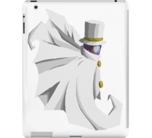 Count Bleck/No Background iPad Case/Skin