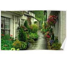 A Hawkshead Alley Poster