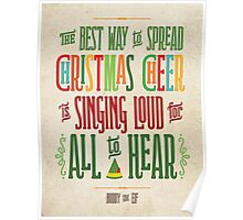 Buddy the Elf - Christmas Cheer Poster