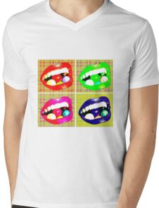 Sweet Tooth Mens V-Neck T-Shirt
