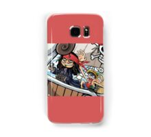 one piece pirates of the caribbean Samsung Galaxy Case/Skin