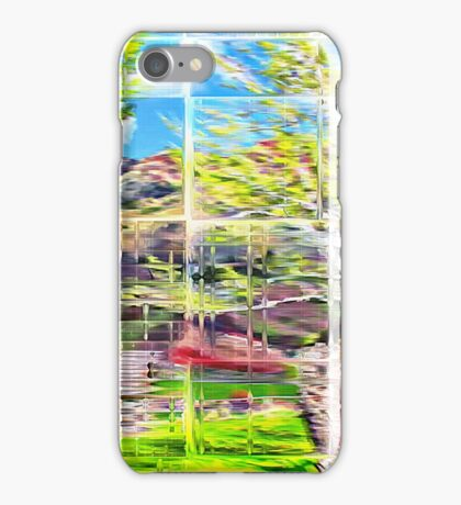 Through Glass Bricks iPhone Case/Skin