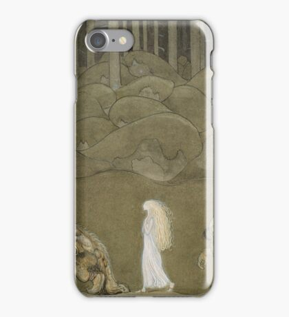 John Bauer, The Princess and the Trolls iPhone Case/Skin