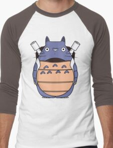 TotoStoise Men's Baseball ¾ T-Shirt