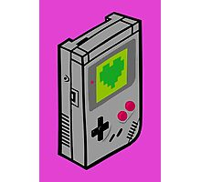 Gameboy Love Photographic Print