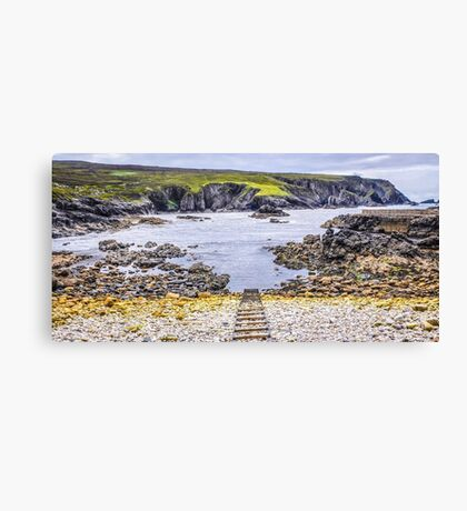 An Port Seascape - County Donegal, Ireland Canvas Print