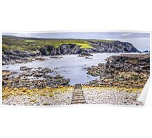 An Port Seascape - County Donegal, Ireland Poster