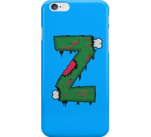 Z for Zombies iPhone Case/Skin