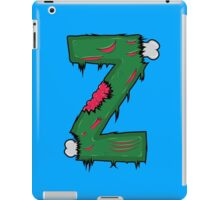 Z for Zombies iPad Case/Skin