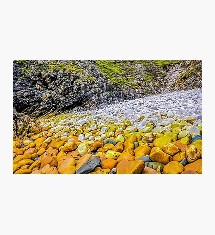 Rockscape of An Port - County Donegal, Ireland Photographic Print
