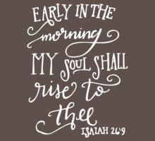 Isaiah 26:9 Kids Clothes