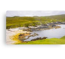 Remote Village of An Port - County Donegal, Ireland Metal Print