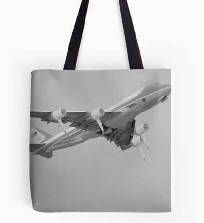 Hairforce One Trumps Presidential Plane Airforce One Tote Bag
