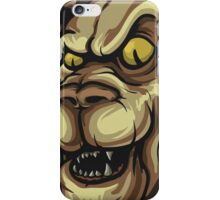 Lion Illustration iPhone Case/Skin