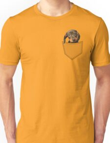 Pocket Dog Dachshund Unisex T-Shirt