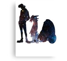 Space Dandy and His Brave Space Crew - version 2 Canvas Print