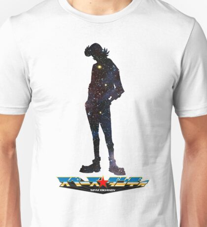 Space Dandy w/logo Unisex T-Shirt