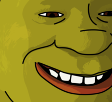 There is only Shrek Sticker