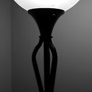 Deco Lamp 5 BW by marybedy
