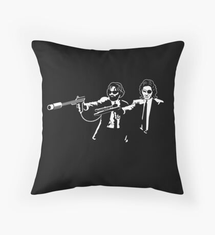 Kurt Fiction Throw Pillow