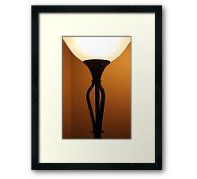 Deco Lamp 5 Framed Print