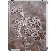 Of Weeds, Seed Pods and Crystals  iPad Case/Skin