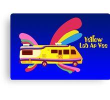 Yellow Lab RV Canvas Print