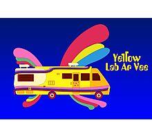 Yellow Lab RV Photographic Print