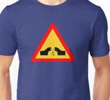 Warning: Falling Wizards 1.0 Unisex T-Shirt