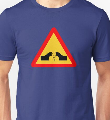 Warning: Falling Wizards 1.0 Unisex T-Shirt