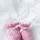 Baby Booties - Pink 1 by Ellesscee