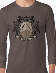 Fillion Character Crest Long Sleeve T-Shirt