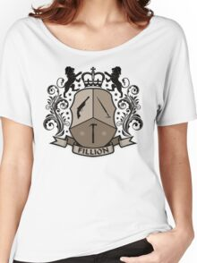 Fillion Character Crest Women's Relaxed Fit T-Shirt