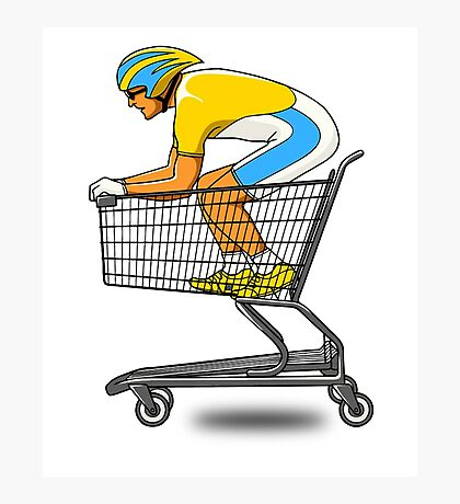 shopping SPEED !!!!  Photographic Print
