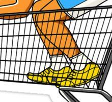 shopping SPEED !!!!  Sticker