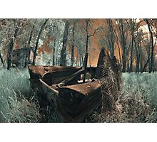 The Last Duck Hunt - Infrared Photo Photographic Print