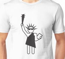 we will make you free Unisex T-Shirt