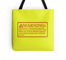 Rated F for Feels Tote Bag